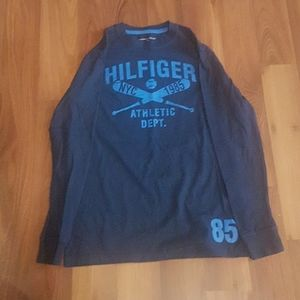 2/$25 blue Boys Tommy Hilfiger long sleeve tee